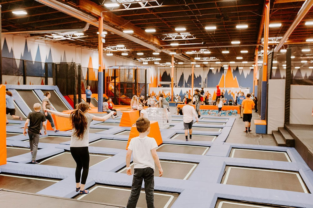 The Benefits of Trampoline Parks
